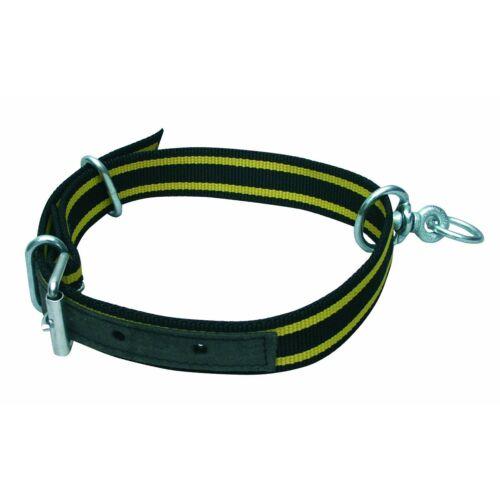Borjú nyakörv, forgó gyűrűvel, nylon