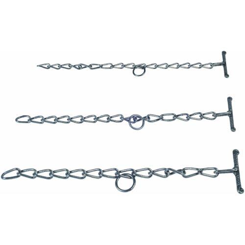 Rögzítő lánc, 7 mm, erős, 70 cm hosszú