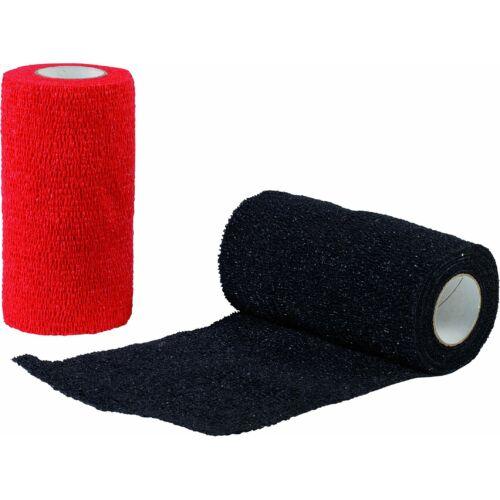 Öntapadós rugalmas pólya, fekete, 10 cm x 4.5 m