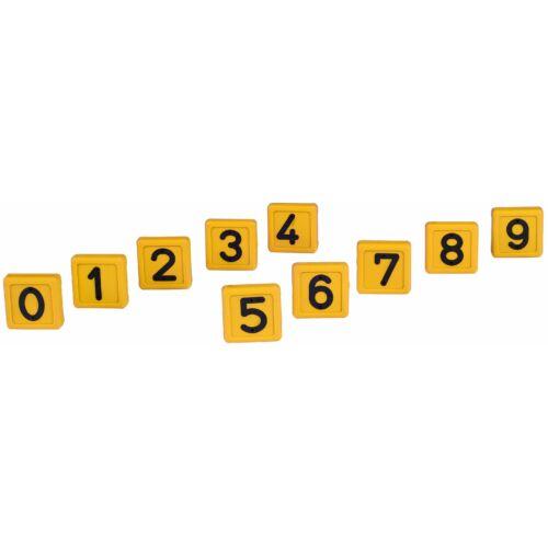Jelölő számok az azonosító nyakörvhöz