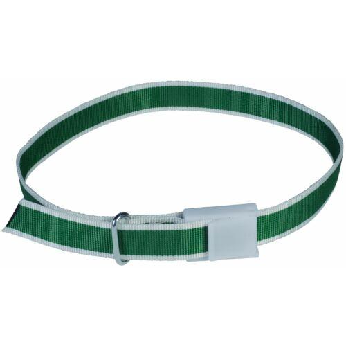 Azonosító nyakörvek, zöld, 120 cm