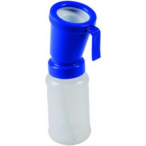 Tőgyfertőtlenítő pohár, visszafolyás mentes