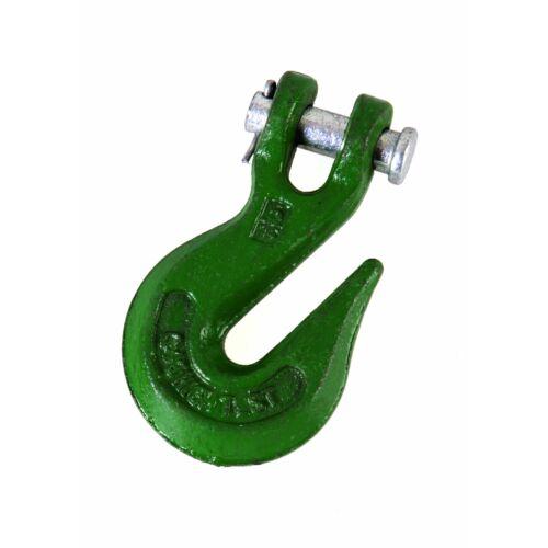 Kampó csörlőhöz, 8 mm vastag, 5 db
