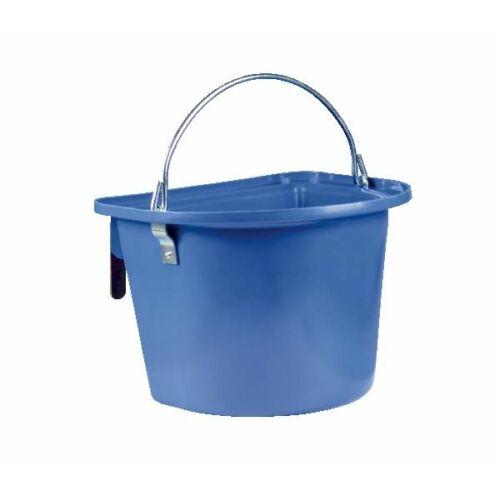 Hordozható vödör, 14 literes, akasztóval és füllel, kék