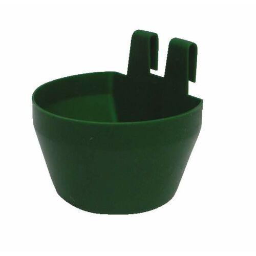 Baromfietető / itató, zöld, 300 ml