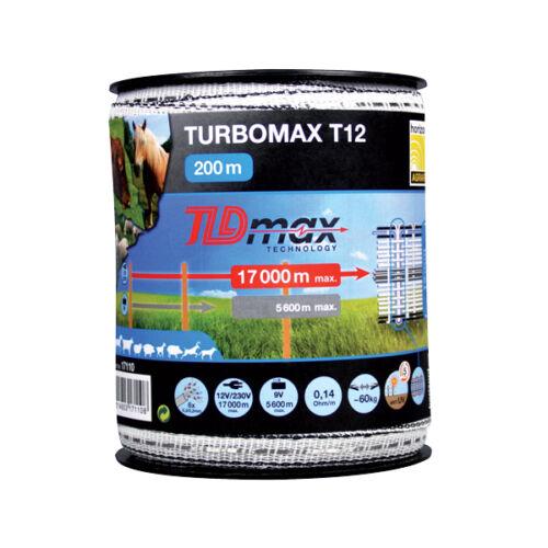 TURBOMAX 12 mm-es szalag