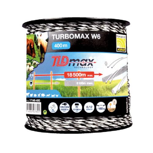 TURBOMAX W6 TLDmax vezeték 400m