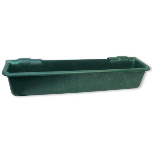Felfüggeszthető vályú, 50 literes, zöld