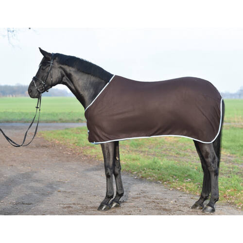 Gyapjú lótakaró, sötétbarna,105cm, BUSSE