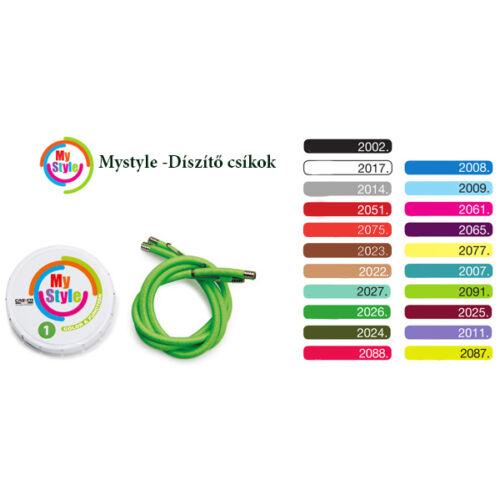 Cserélhető MyStyle díszítő, sárga, CASCO
