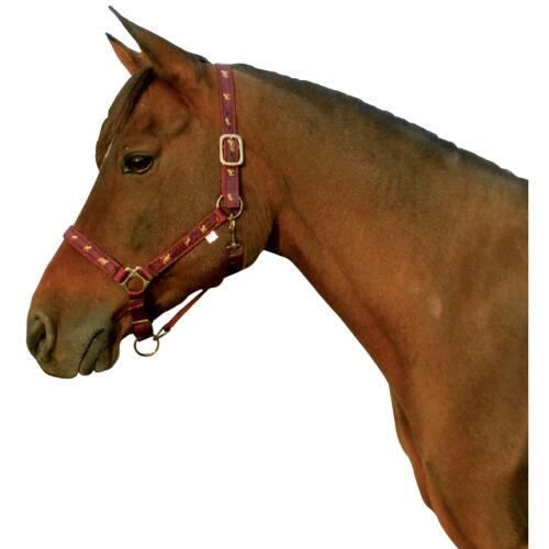 Kötőfékek, lovas mintával