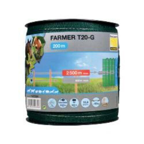 FARMER T20-G, zöld, 20 mm-es szalag