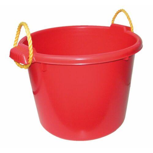 Multifunkciós vödör, műanyag 70 literes, piros