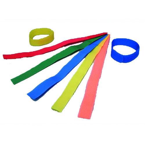 Tépőzáras lábjelölő, vegyes színekben, 10 db
