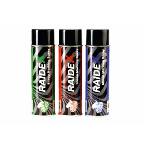 """RAIDEX"" juhjelölő spray, 500 ml, kék"