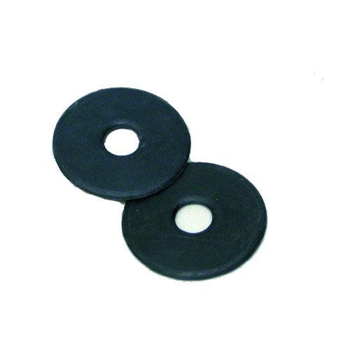 Gumi zabla karika (fekete)