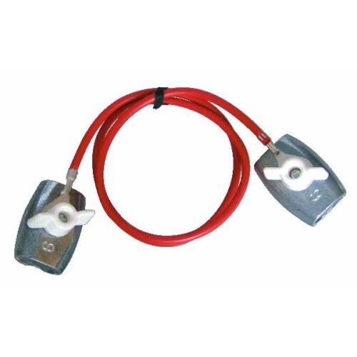 Vezeték összekötő, kapcsos, 5-6 mm-es vezetékekhez