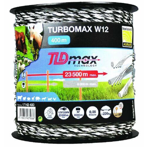 TURBOMAX W12 TLDmax vezeték 400m