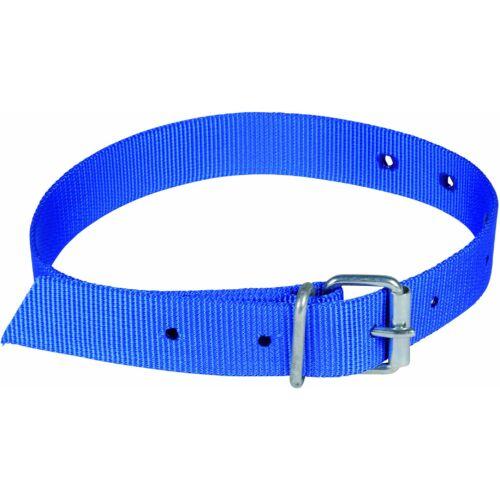 Azonosító nyakörv, kék, 90 cm